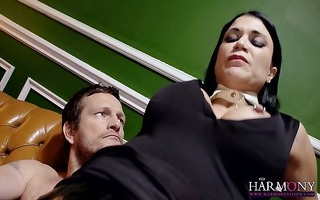 charming perverted starlet blows her sugar dad