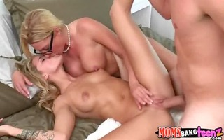 pleasant daughter shares bf with her mama