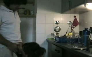 cute wife fucked in the kitchen