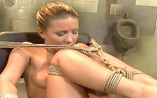 hot mistress dominating youthful slavegirl