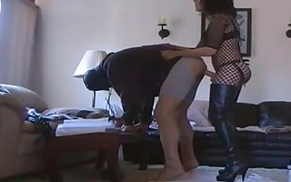 wife fuck her guy with strapon again