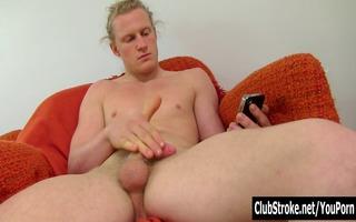 hawt long haired str shane masturbating