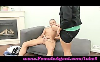 femaleagent. hawt foot fetish casting
