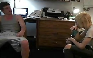 youthful homosexual twinks making homemade sex