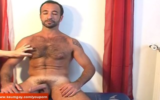 attractive older arab boy acquire waked his