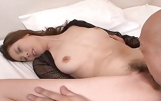sex with oriental unshaved beauty