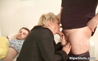 three-some nasty blonde mother i got screwed