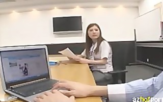 azhotporn.com - yearning new male office lady 1