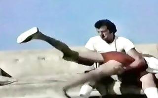 vintage homosexual athletes receive spanked
