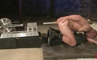 machine drilled