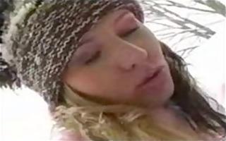 hawt snowboard lesbians outdoor sex