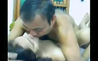 indian couple in an dilettante porn vid