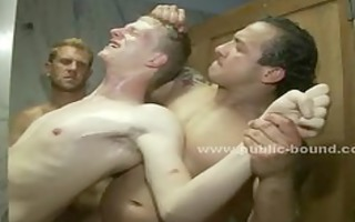 homosexual guy acquires his raiment ripped then