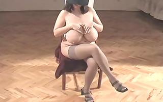 one classic large marvelous woman-mistress