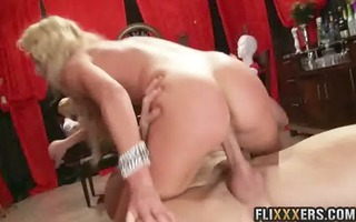 golden-haired mother i bawdy cleft cherie deville