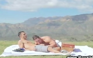 outdoor gentle clean homo sex