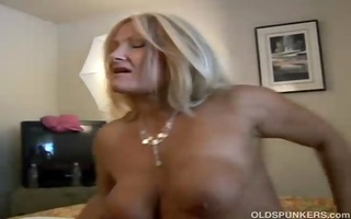 fascinating aged golden-haired roxy can to fuck