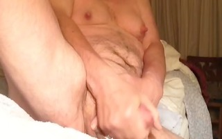 artemus - reclined jerking off and cuming for