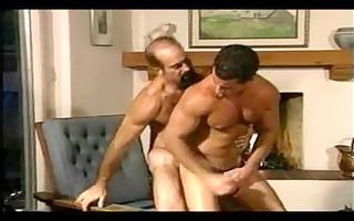 hairy daddy fucks sexy mate