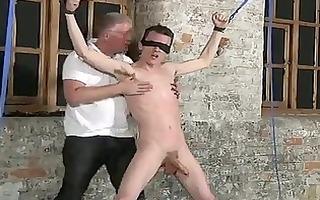 homo movie scene of sean mckenzie is corded up