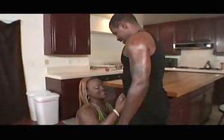 queen b spends her days in the kitchen