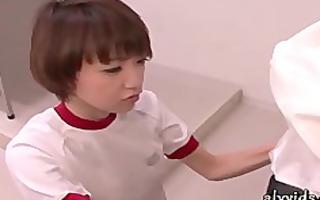 oriental engulfing her teacher large dong