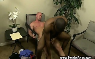 gay video of jp gets down to service mitch\s