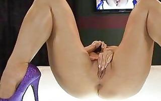 perverted oriental dark brown in hot underclothes