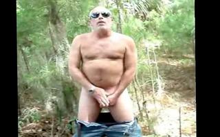 dad in nature