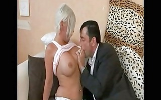 hawt german milf with large whoppers cheating on