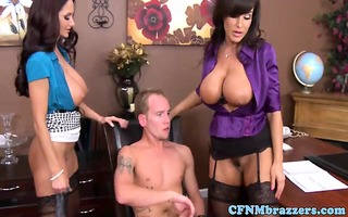 cfnm milfs rub clits during the time that they