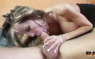 danielle derrik is one filthy mama at group-sex a