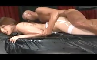 japanese playgirl receives 3 creampies