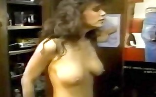 retro cum produced for hot blond