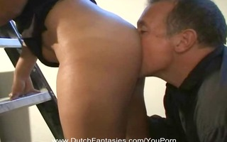 dutch cougar copulates the right way
