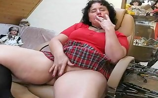 obese older can masturbating