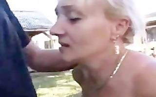 german aged with great oral stimulation skills