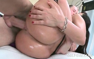 sexy a-hole oily mother i fucking a monster dong