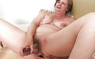lewd housewife older masturbation